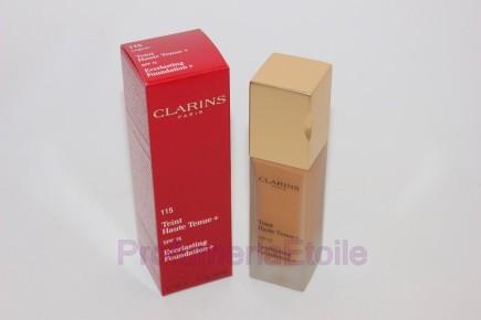 CLARINS TEINT HAUTE + N.115 COGNAC fondotinta coprente