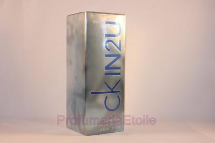 CK CALVIN KLEIN IN2U HIM PROFUMO UOMO 150ML EDT VAPO Perfume Men Spray