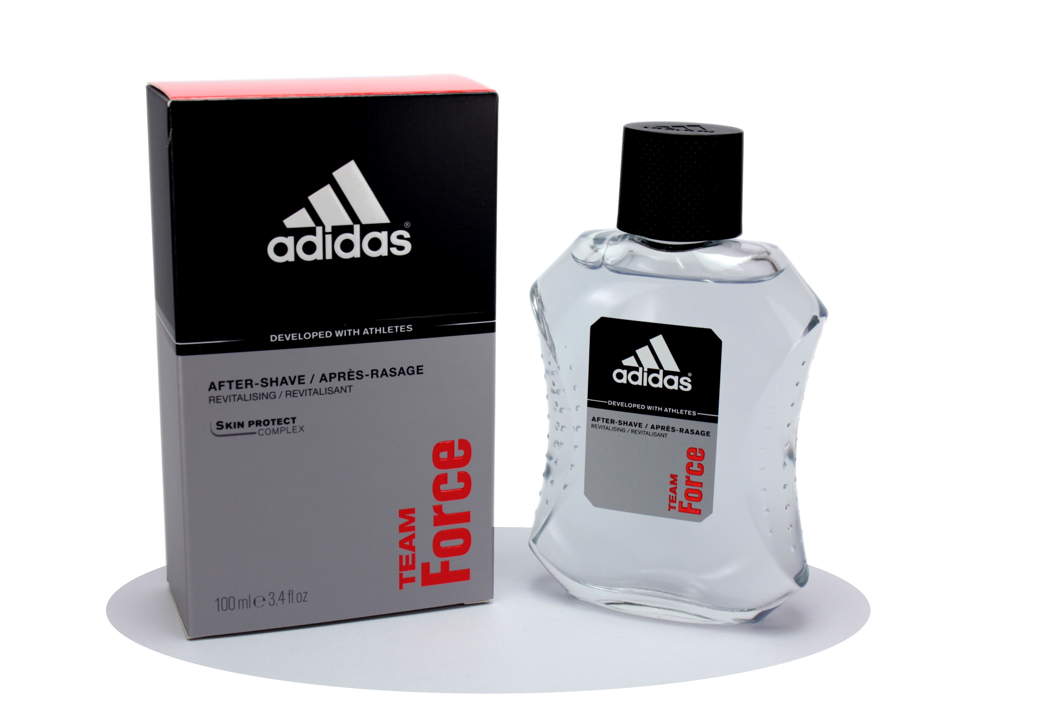 ADIDAS TEAM FORCE LOZIONE DOPOBARBA UOMO 100ML Ash after shave lotion